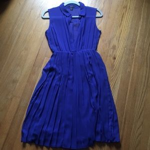 Cobalt Blue Midi Dress